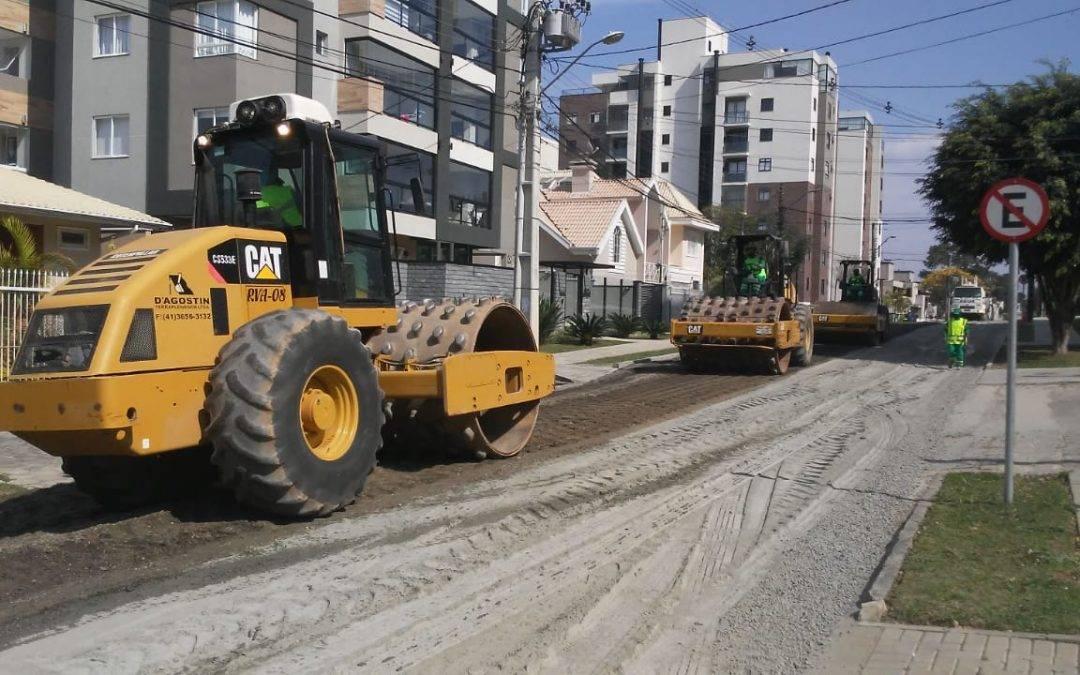 Reciclagem de Pavimento Asfáltico Deteriorado – Curitiba/PR